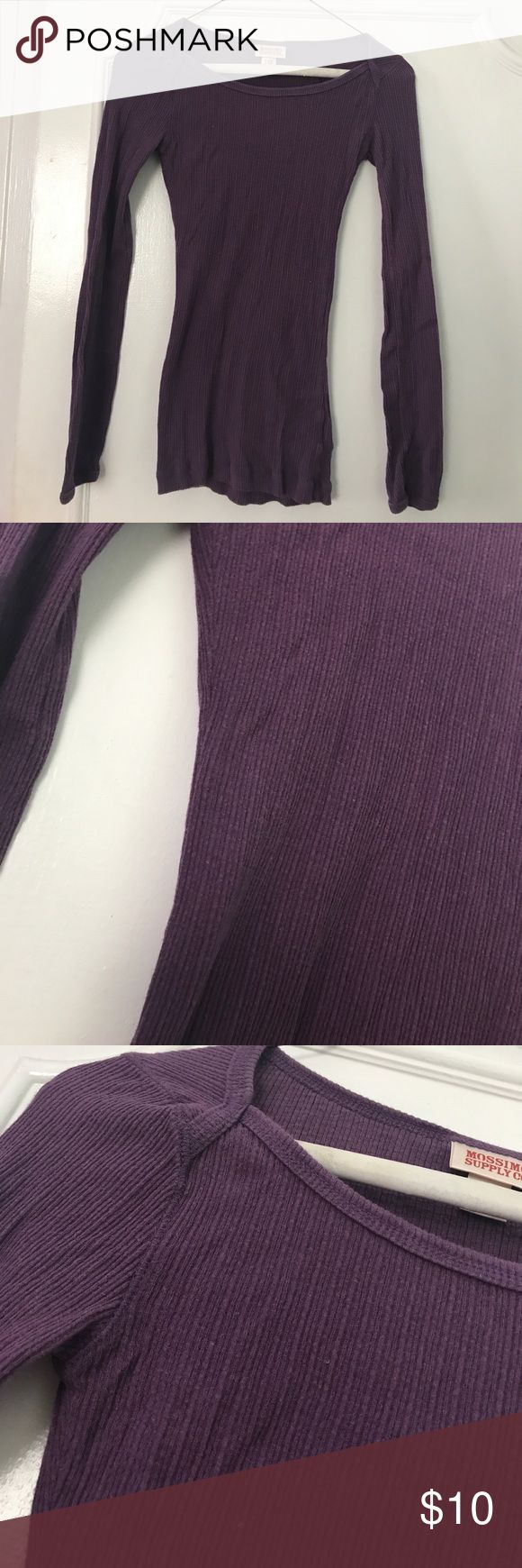 BASIC PURPLE LONG SLEEVE Basic Purple Long Sleeve Top - Lightly Used in Great Condition - very comfy Tops Tees - Long Sleeve