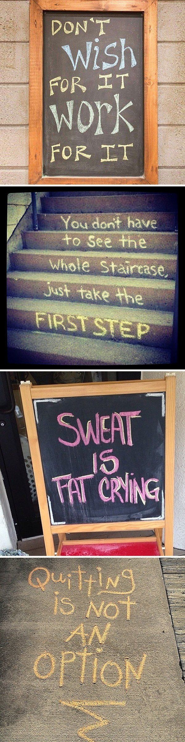 Instant Inspiration Straight From the Chalkboard