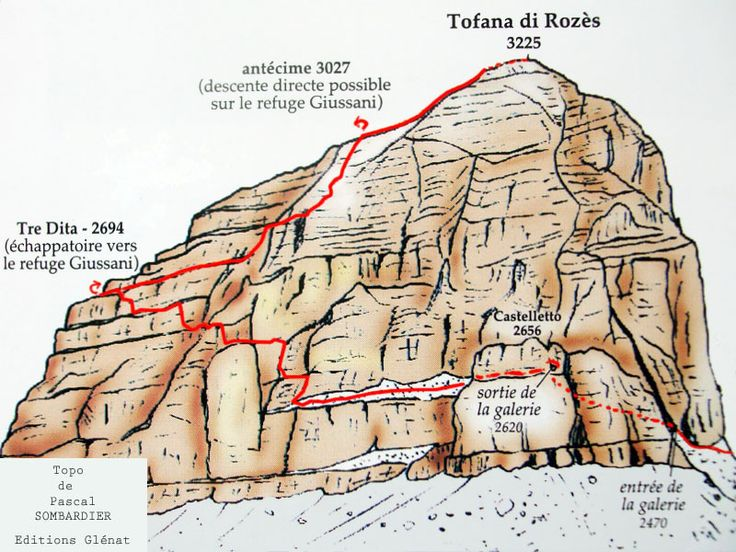 Ferrada Lipella, Tofane di rozes,Dolomites