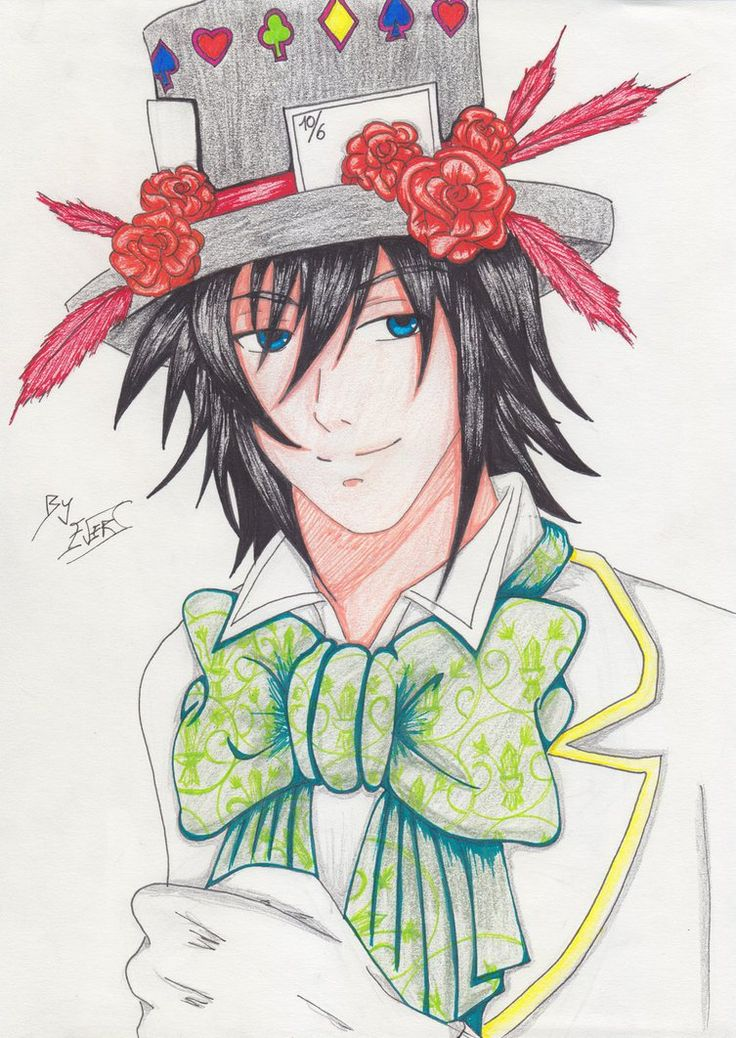 Blood Dupre - The Mad Hatter. by EverSwan on DeviantArt