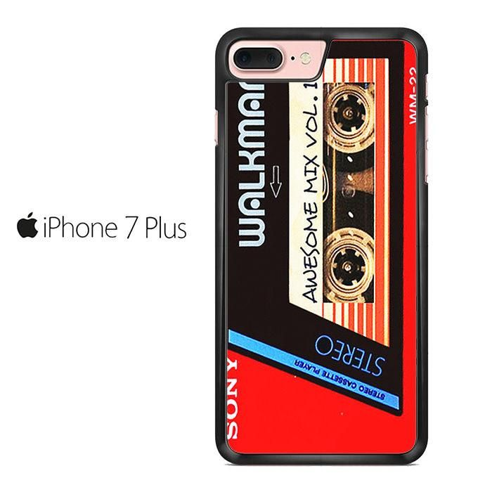 Walkman Awesome Mix Vol 1 Red Tape Iphone 7 Plus Case