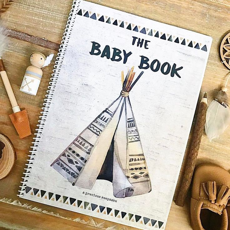 🌲 W I L D E R N E S S 🌲  We had a few of you ask for it, so we made it happen! The Wilderness Baby Book is back online now!  The perfect natural gender neutral Baby Book for a new precious mini 🏕  @forever3paperie 📷