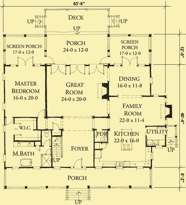 architectural house plans floor plan details low