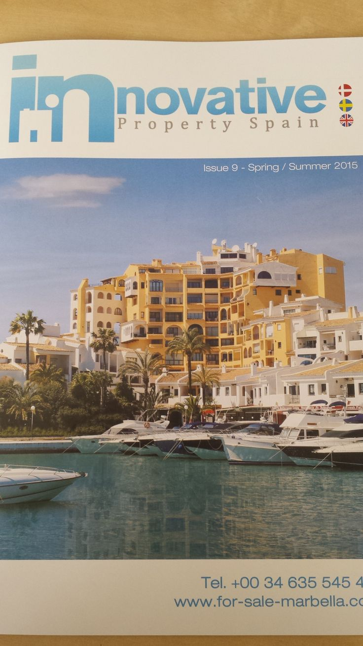 Our new magazine, filled with bank repossessions and developments! www.inproperty-spain.com