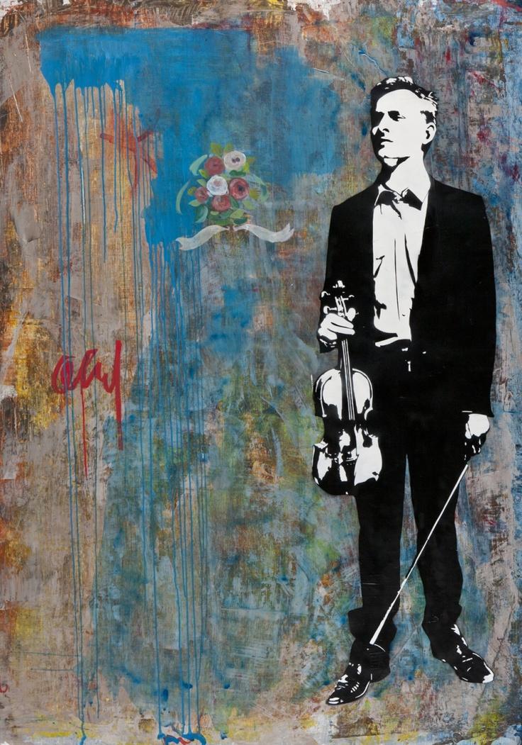 Blek le Rat : The Violinist II