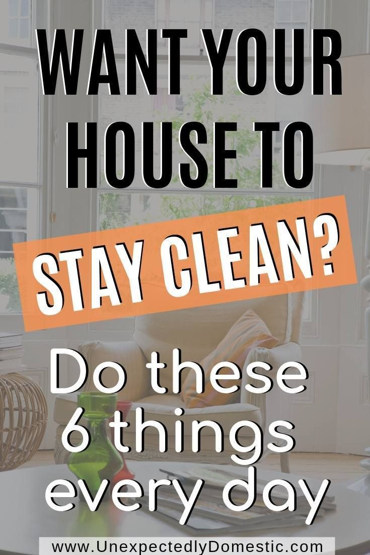 6 Simple Ways to Keep Your Home Tidy ALL the Time