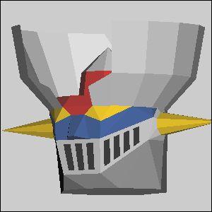 マジンガーZの展開図 似顔絵 無料 ダウンロード ペーパークラフトファン