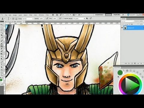 how to fix glares in photoshop