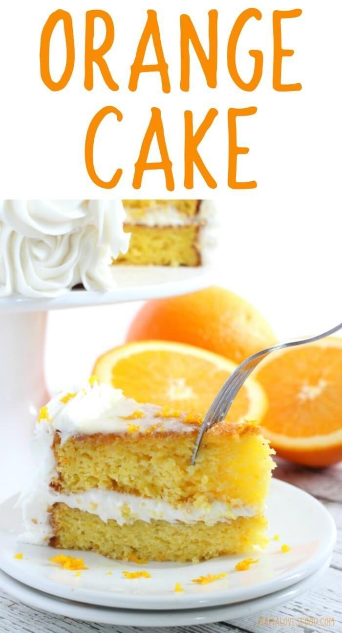 this was the best!!! ORANGE CAKE RECIPE - #cake #cakerecipe #orangecake #dessert