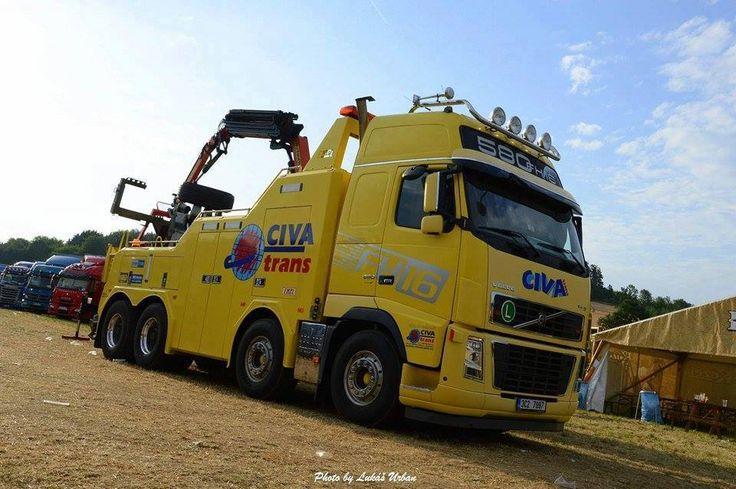 VOLVO FH TOW - CIVA Trans (Чехия)