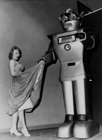 Lady in california dating robot