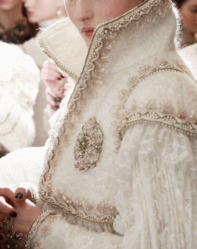 Kingdom: Fashion, Style, Dress, White, Costume, Chanel Pre Fall, Fairytale, Haute Couture, For Fall 2013