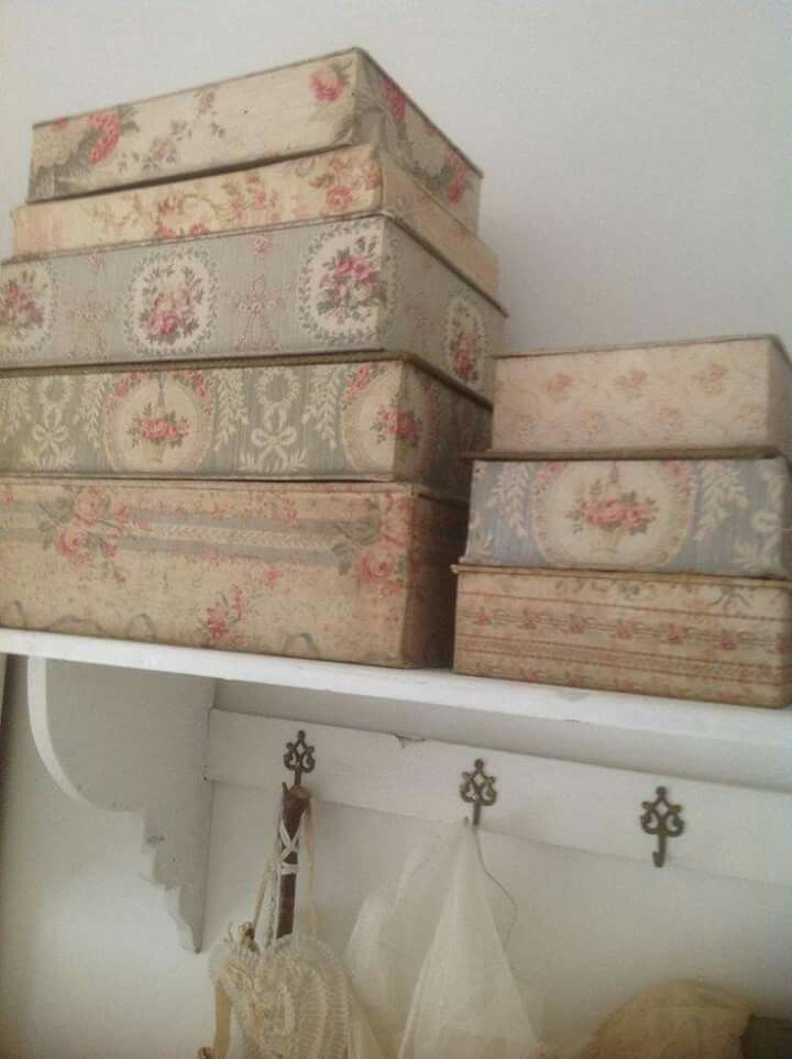 Beautiful Boxes for Keepsakes ~