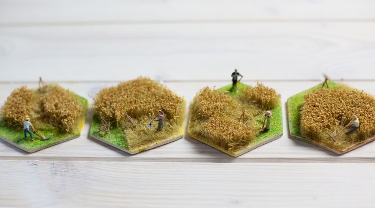 Die Siedler von Catan in 3D, Getreide Feld