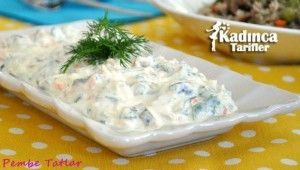 Yoğurtlu Beyaz Lahana Salatası Tarifi