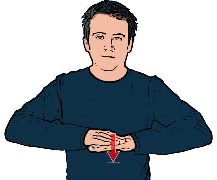 Sit - British Sign Language (BSL)