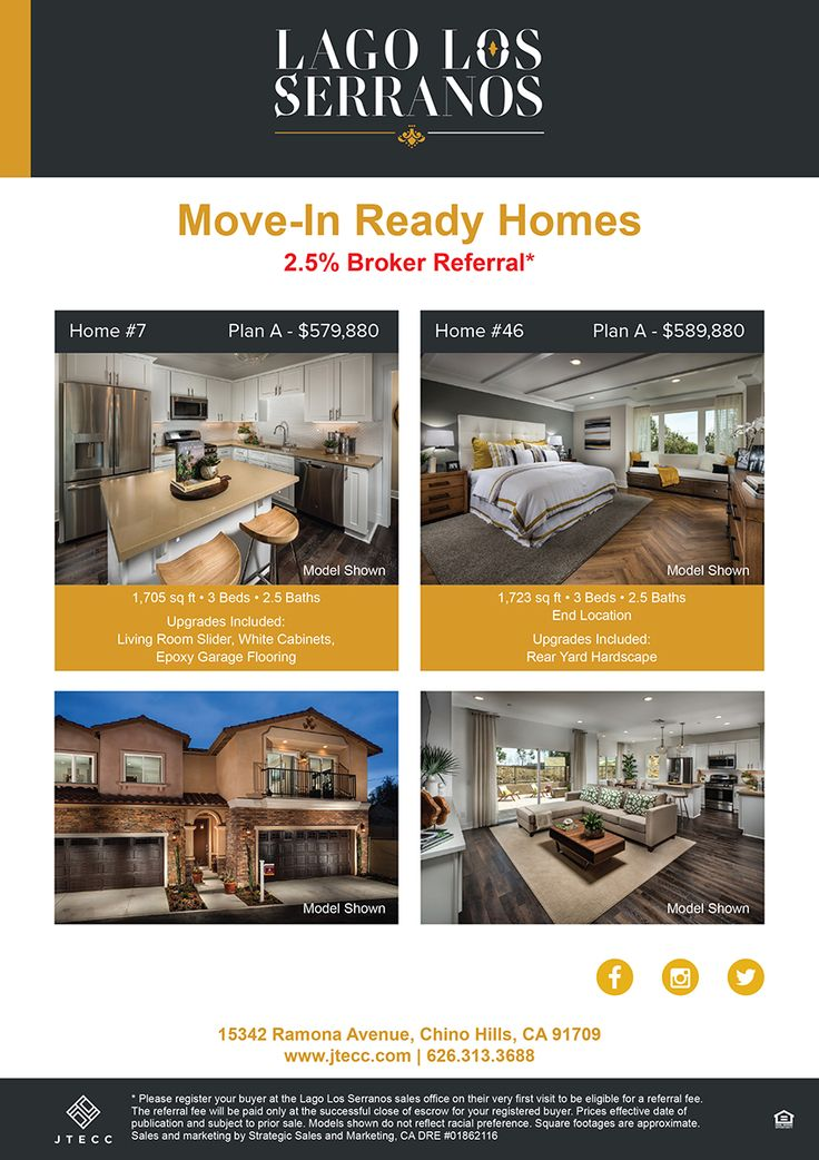 New homes for sale in chino hills california movein