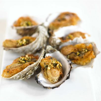 Oysters Tempura  http://www.natoora.co.uk/shop/fishmonger/shellfish-and-crustaceans/west-mersea-rock-oysters/prod17210.html