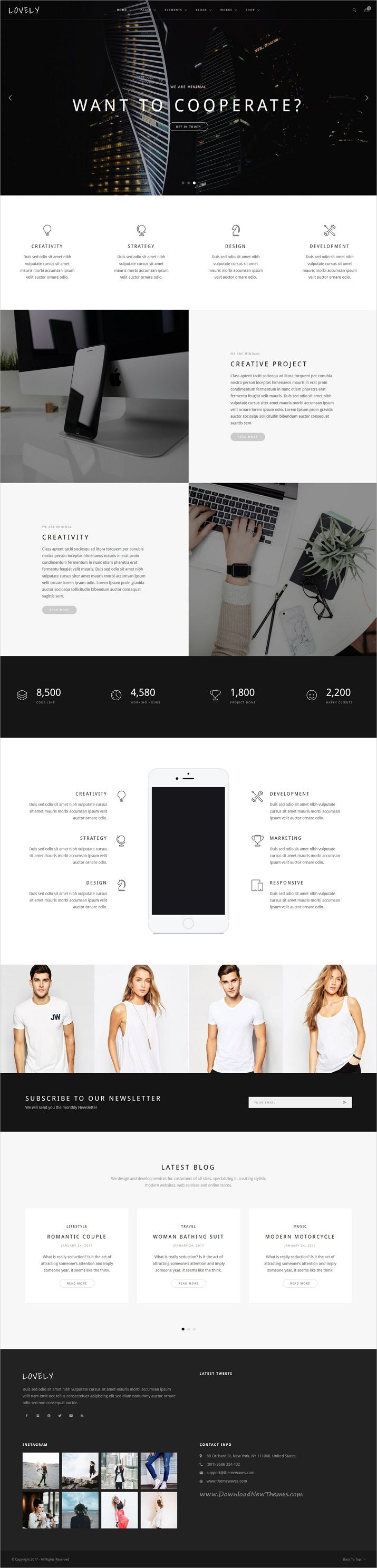 Lovely is carefully designed multipurpose HTML bootstrap template for amazing #minimal #business websites with 18+ stunning homepage layouts download now➩ https://themeforest.net/item/lovely-corporate-creative-multipurpose-html-template/19515847?ref=Datasata