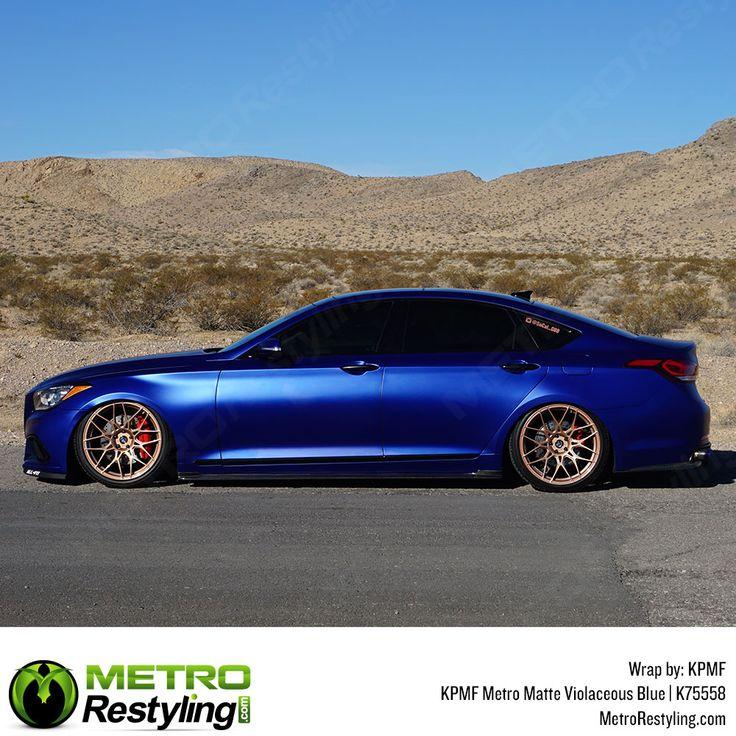 KPMF K75558 Series Metro Matte Violaceous Blue vinyl wrap