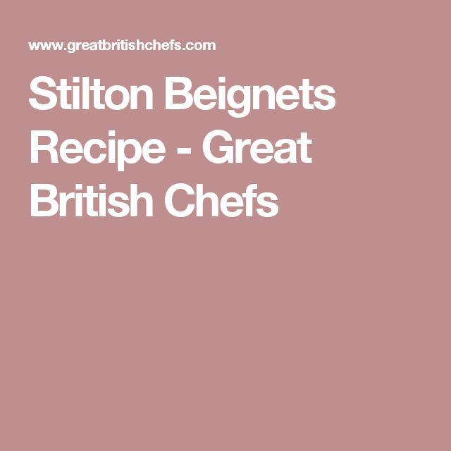 Stilton Beignets Recipe - Great British Chefs