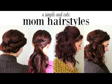 4 Simple and Cute Mom Hairstyles - Ma Nouvelle Mode