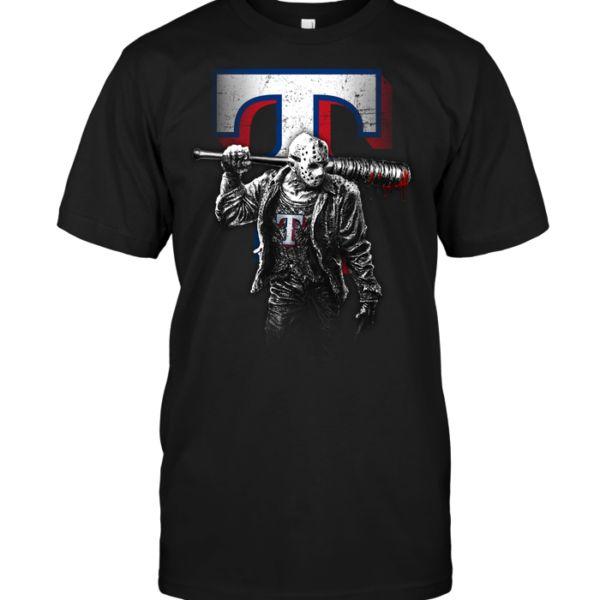 Jason Voorhees Texas Rangers – POISETEE
