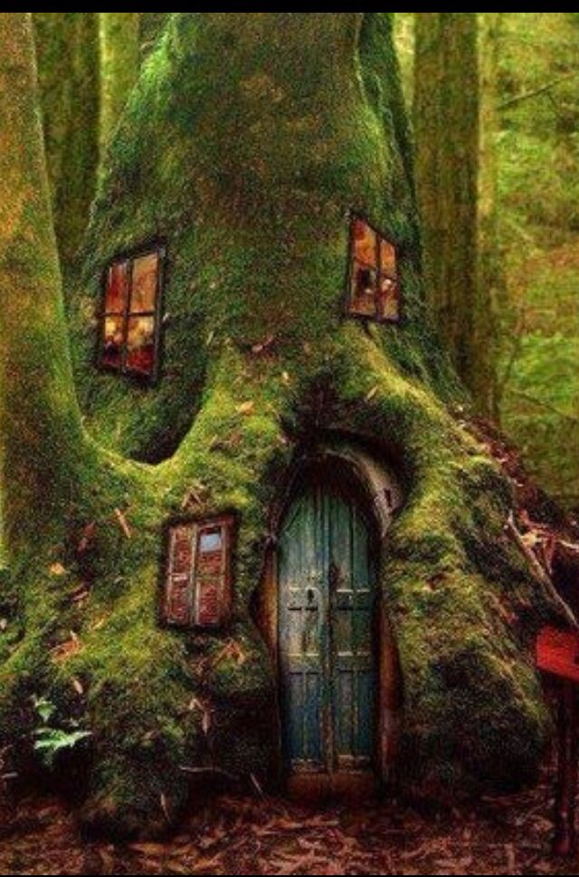 This is a fairy house and in Shakespeare's time  fairies had gnomish/elvish homes.