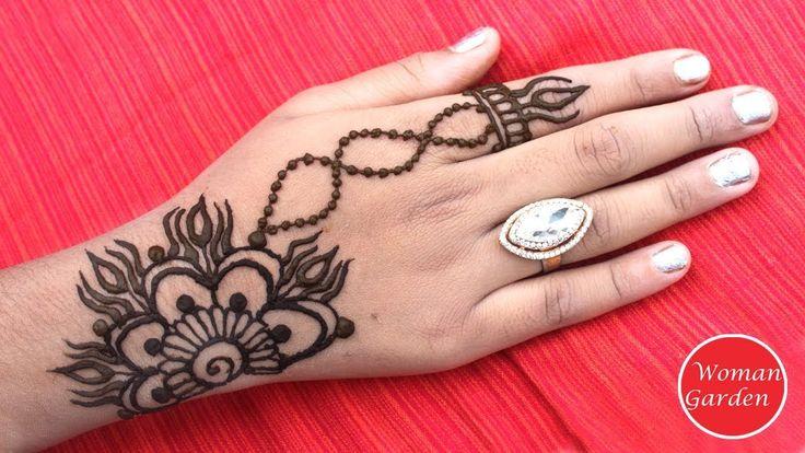 Exclusive Simple Hand Mehndi Design | Woman Garden😍😍