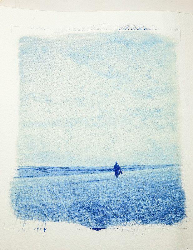 Blue print 藍曬 測試