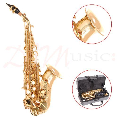 Odyssey Bb Curved Soprano Sax Outfit with Case - The Odyssey Premiere range of instruments have been designed and built to the highest standards of workmanship. Comes complete with all the accessories you will need to get started.