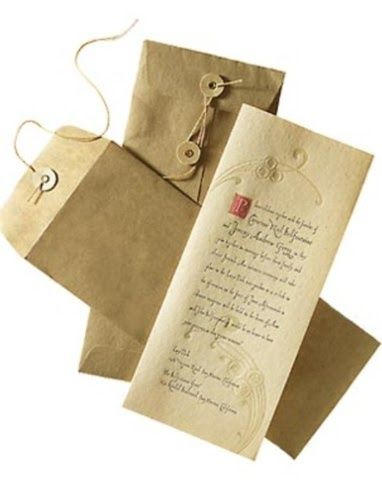 Renaissance wedding Invitation| medieval wedding ideas