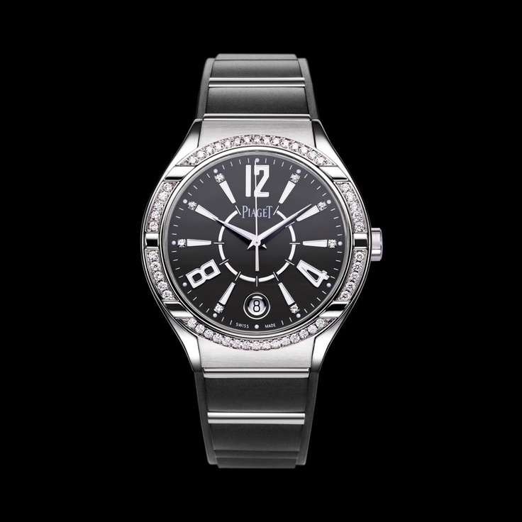 Piaget Polo Watch G0A36014, White gold, diamonds