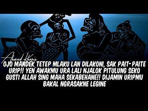 Pitutur Jowo Wejangan Jawi Wayang Youtube Lagu Filosofi