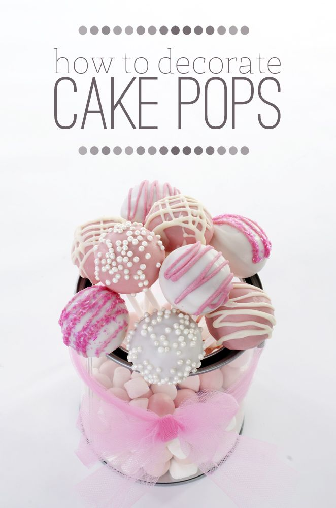 Cute Ideas for Decorating Cake Pops | sheSTEALS 1st Birthday Week