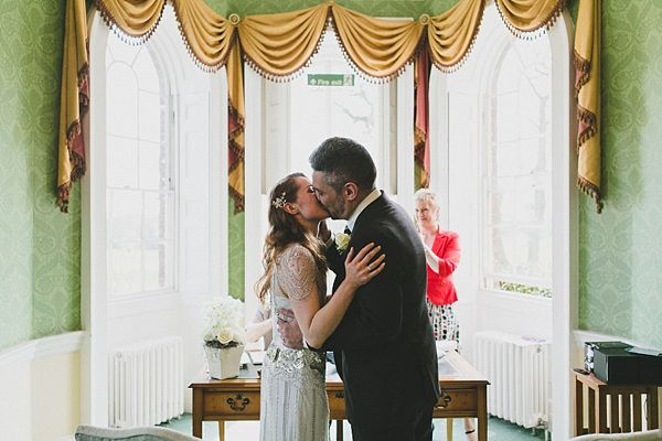 Eden by Jenny Packham For An Old Hollywood Glamour Inspired Wedding