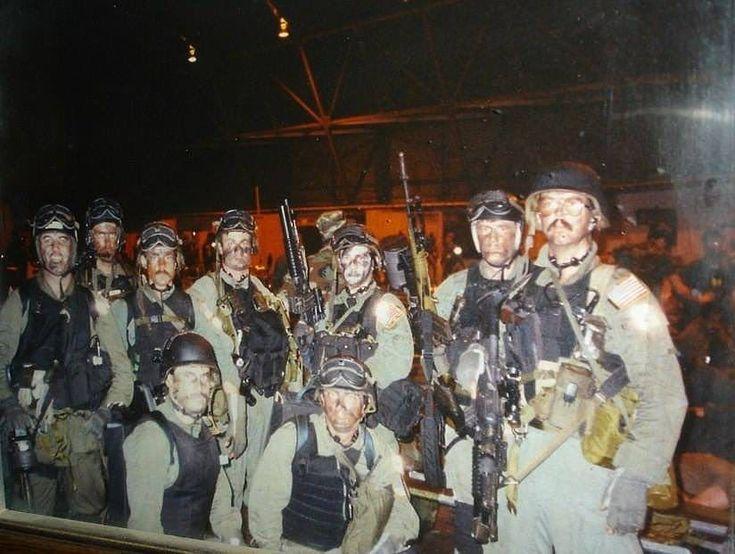 F Team Troop 2 A Squadron Delta Force Operation Acid Gambit 1989. [824 x 621]