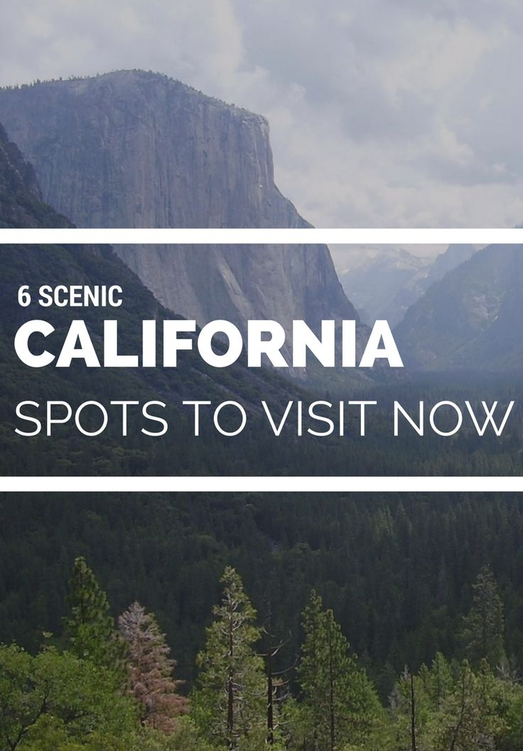 Don't get us wrong — We love San Francisco, LA, and San Diego. But there's something to be said about the Golden State's great outdoors. From Highway 1 to the Redwoods, here are the top places to visit in California for a weekend in nature.