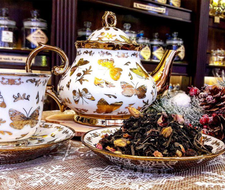"""Этот чай не нуждается в представлениях, его знают многие как """"С днём рождения!"""" А я его сегодня посвещаю тем кто родился 31 декабря в момент перехода от старого к новому, мне кажется, что это необычные люди, которым ведомо чуть больше, чем остальным!"""