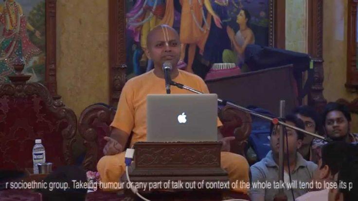 Prerana Youth Festival - Playing Master Strokes of Life by HG Gaur Gopal...