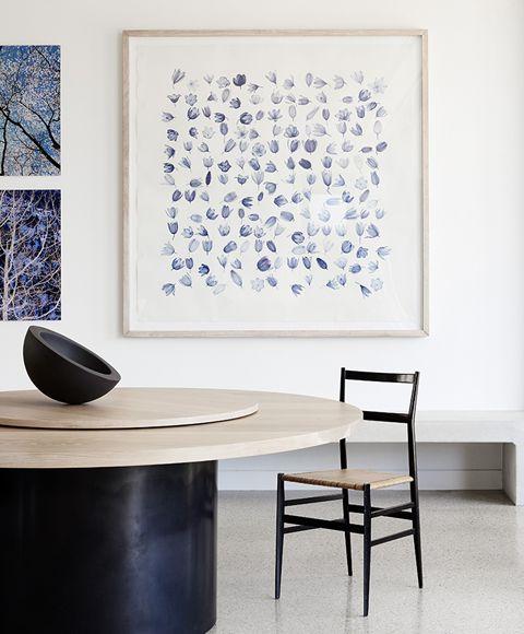 Round table - H & M Residence - Shareen Joel Design | Interior Design, Interior Architecture & Industrial Design Melbourne