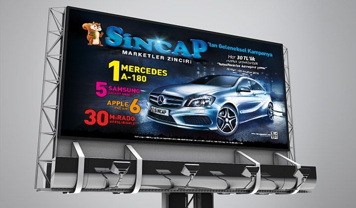 Masske Konya Reklam Ajansı - Sincap Market 2014