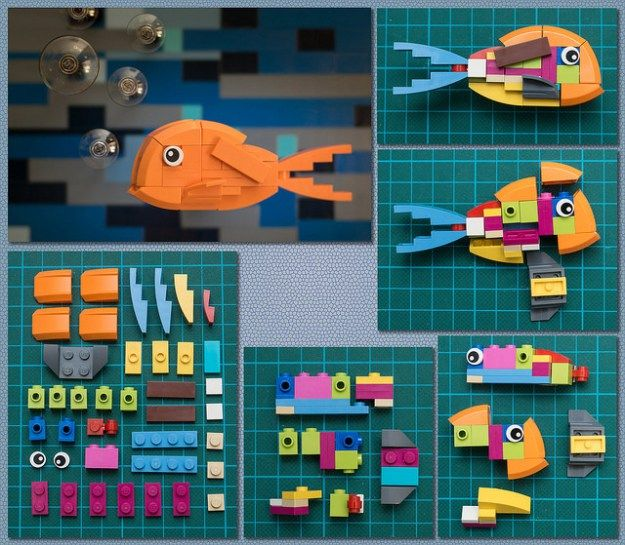 This amazingly cute little fish is a perfect showcase for how to exploit the natural shapes of LEGO bricks to form imaginative creatures. Builder gonkius uses two curved slopes meeting each other to form a perfect fish mouth, and a curved fender element suddenly looks as if it were always made to be fish fins. However, this …