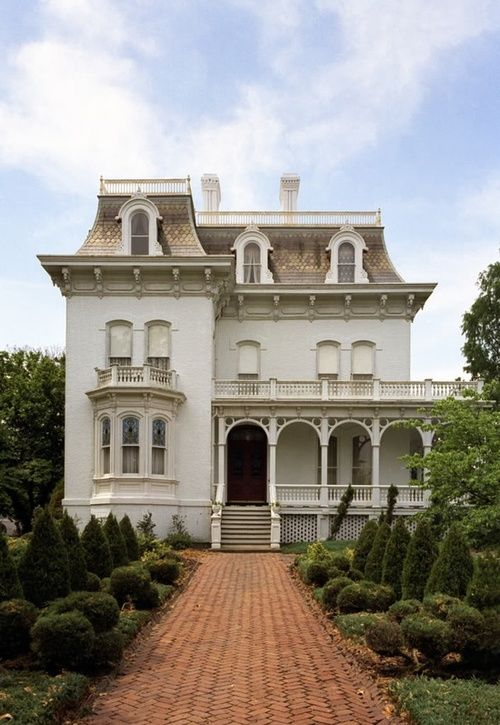 Second French Empire Gothic Revival Italianate Queen