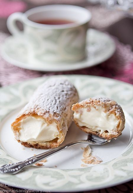 Laduree vanilla eclairs • CWA Australia recipes • recipe for cream filled eclairs here