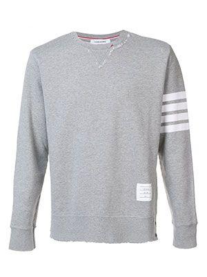 The Serve — Thom Browne Sleeve Stripe Sweatshirt, £381