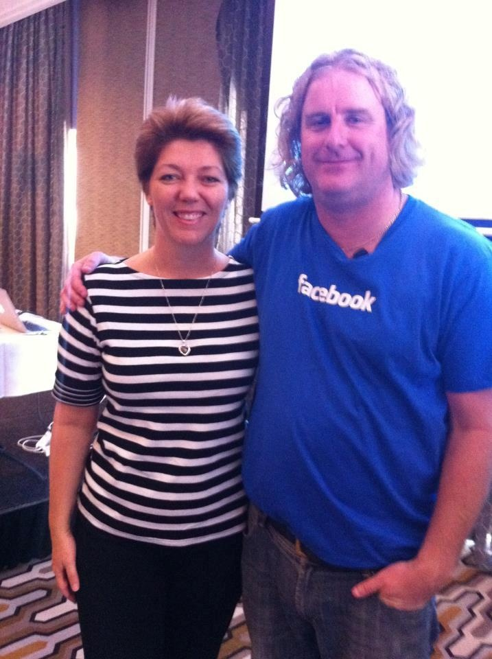 Had great fun with Nick from Facebook Australia who was my guest presenter on this month's webinar - Facebook Ads Made Easy.  If you would like to listen to the recording, here you go http://www.thesocialmediaprincess.com/mar13web1803/