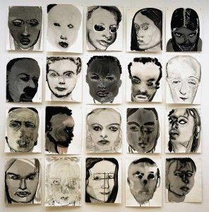 Marlene Dumas // Saw this in Istanbul recently - it's AMAZING in person.