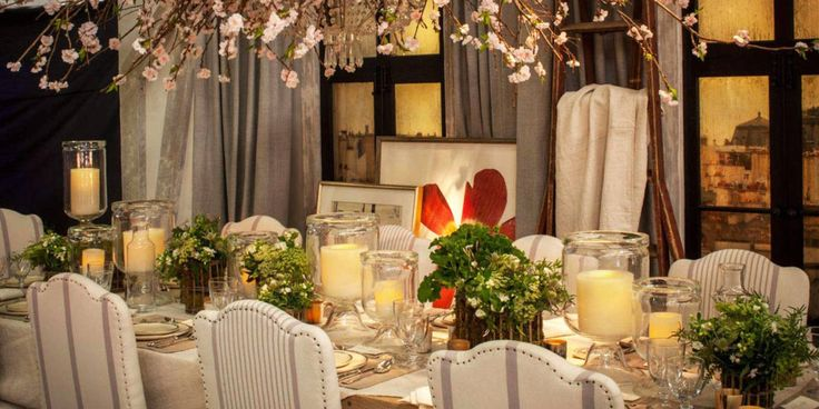 8 Ralph Lauren Home designed tables (each with an AMAZING theme) for DIFFA's Dining by Design event held every year in NYC. We'll take one of each please!