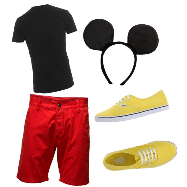 Image result for mickey mouse halloween costume adult simple